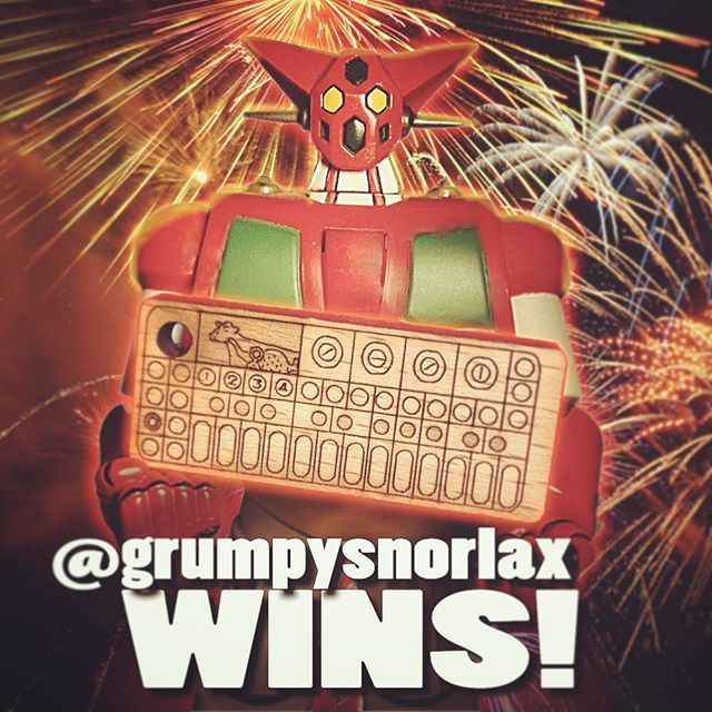 "A BIG THANK YOU to Everyone who took part in our OP-1 Miniature / Keychain GiveAway! :) About the ""selection system"" we just want you to know that it was crazy randomized! So absolutely no logic in it. NOW! Let's us all congratulate the WINNER 🏆 --->> @grumpysnorlax <<--- Pls get in touch! Once again Thanks to all the others, and don't lose hope! ;-) We'll do it again! Last but not least, a Big Thanks goes to 👏🏻@op1andchill for hosting this GiveAway - You deserve an OP-1 Miniature too…"