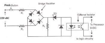 Circuit Diagram of PLC Input Module