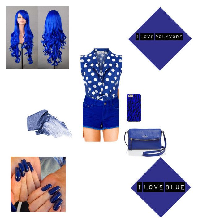"""Blue   "" by vida-paula on Polyvore"