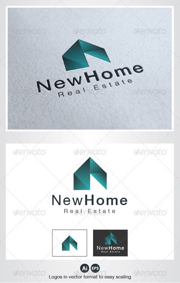 New Home Logo - Buildings Logo Templates