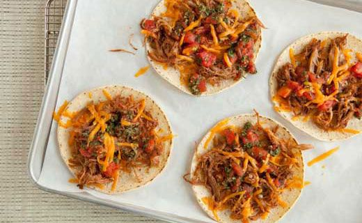 Epicure's Mini Mexican Tortilla Pizza
