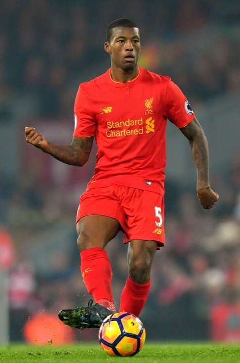 Liverpool-speler Georginio Wijnaldum.