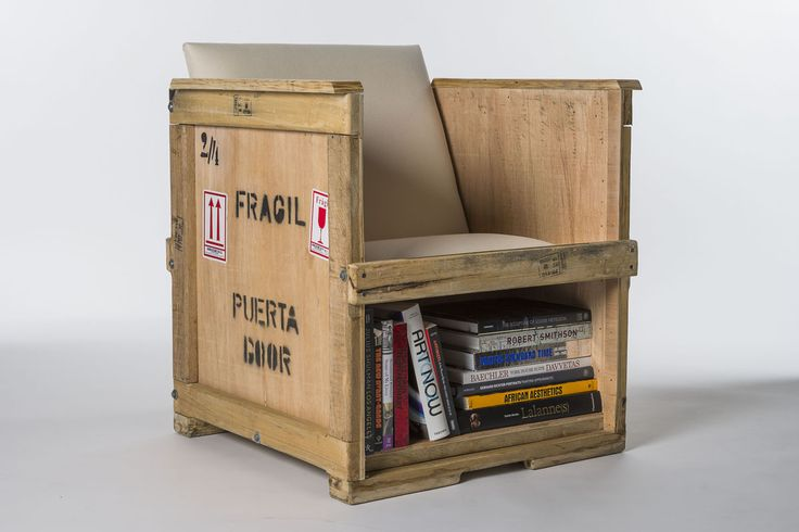 Peveto, a fine art resource management company presents the FURM Furniture collection of repurposed shipping crates – used fine art shipping crates, that otherwise would have gone to a landfill, are transformed into stylish functional furniture.
