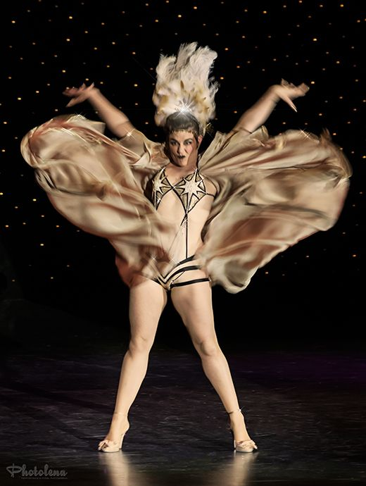 Lola Frost competing for Queen at the 2014 Burlesque Hall of Fame Weekend: Miss Exotic World Queen of Burlesque