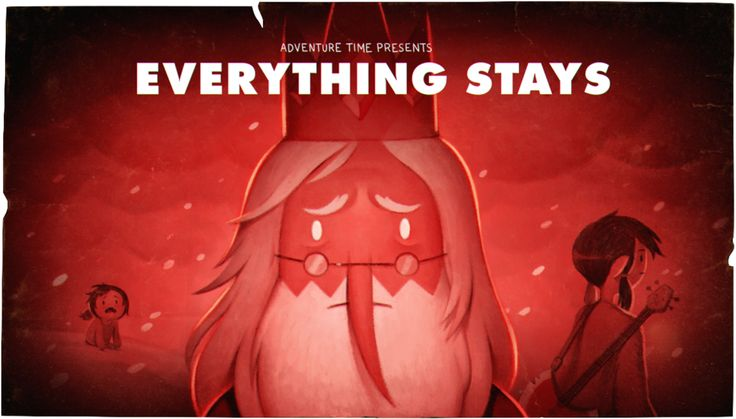"""""""Everything Stays"""" is the second part of the """"Stakes"""" miniseries. Marceline looks back on her life on her last day."""