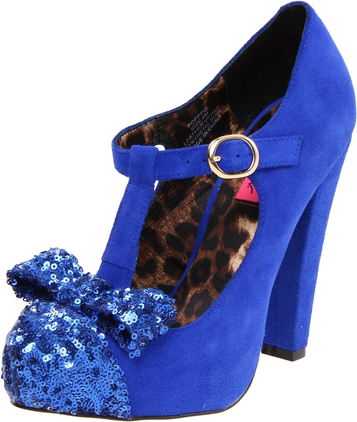 Betsey Blue Shoes March 2017