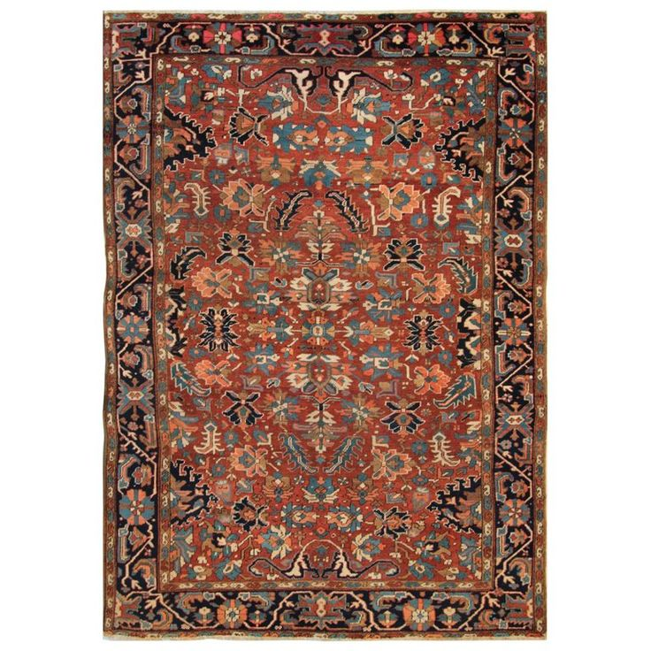 Antique Carpets, Persian Rugs, Heriz Rug For Sale
