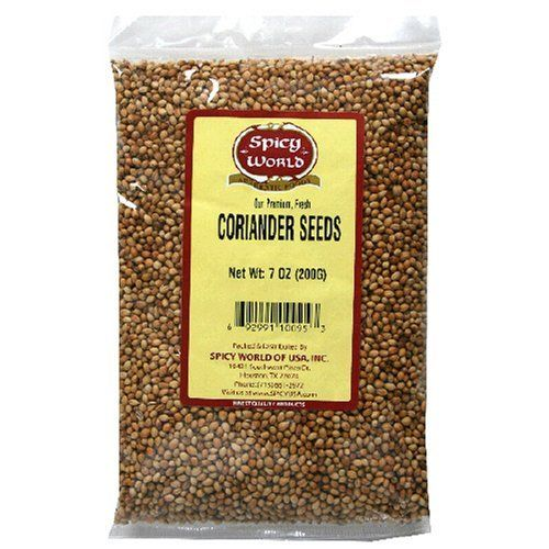 Spicy World Corriander Seeds 7oz Spicy World