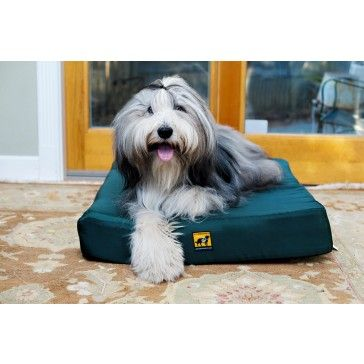Orthopedic Chew-Resistant Dog Bed by K9 Ballistics is a very popular, tough dog bed because not many come as small and as big as this one. Choose from a great selection of colors.