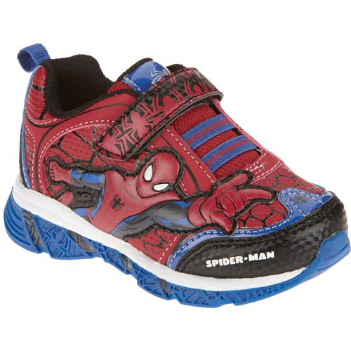 Spiderman Toddler Boys Sneaker Shoes Walmart