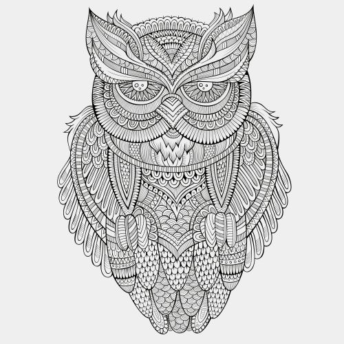 Advanced Animal Coloring Page 4
