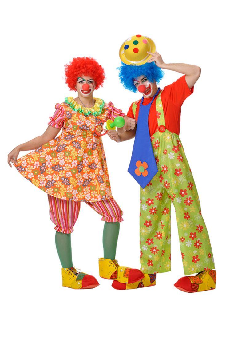 female clown cartoon - Google Search