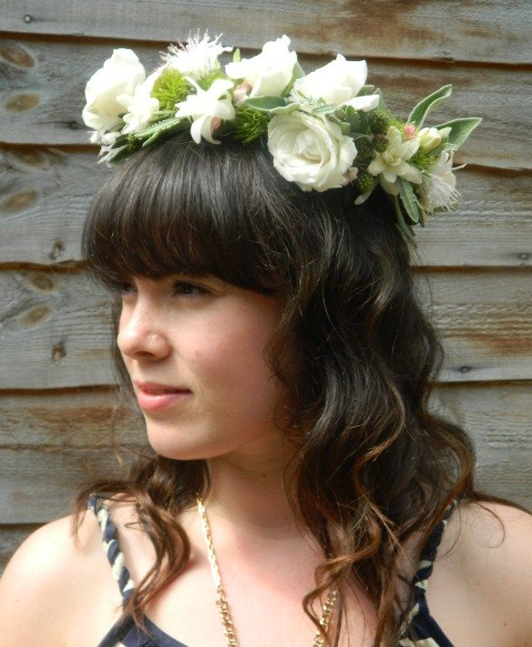 How to make a floral crown / halo