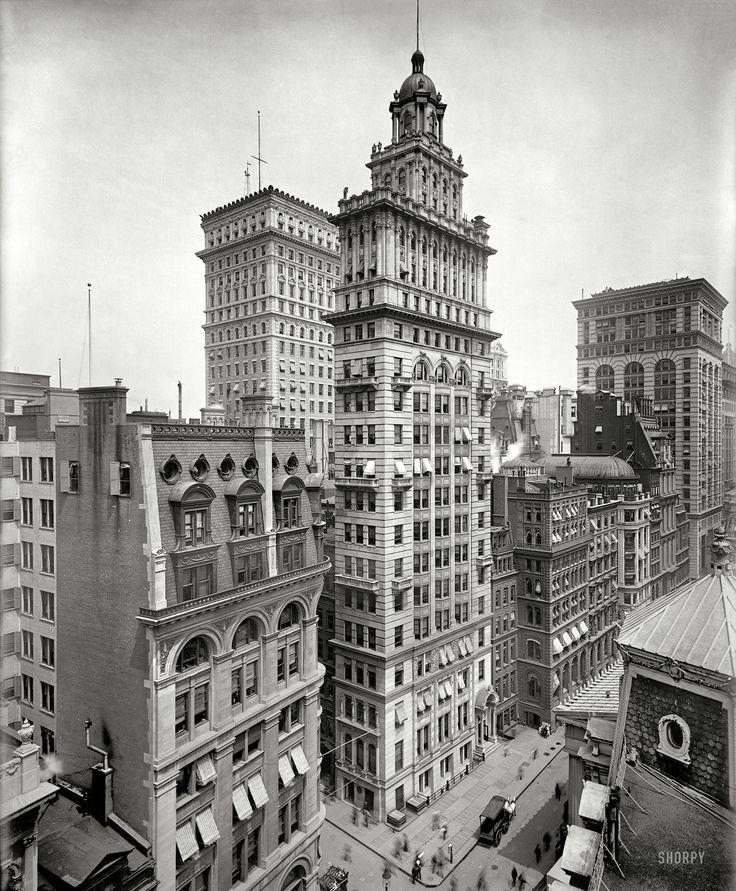 Shorpy Historical Photo Archive :: Gillender Building: 1900 NY NY