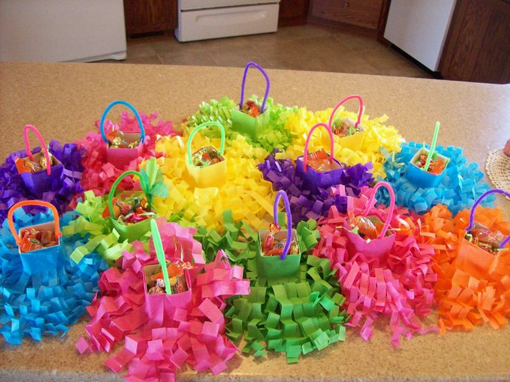 May Baskets! I used to make these kind every year for my 3 little girls to give out ♥