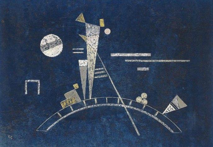 "Wassily Kandinsky - ""Fragile"". 1931 year"