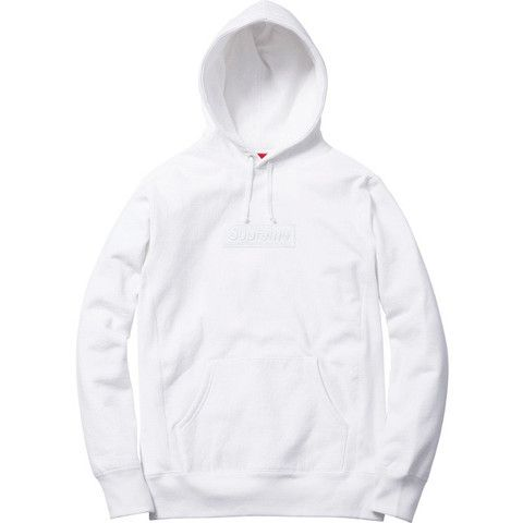 Sold Out Store - Buy Supreme Online UK | Supreme White Box Logo Hoodie | THESOS.CO.UK