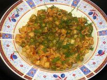 Αρακάς με ζυμαρικά αλάδωτο ή με λάδι