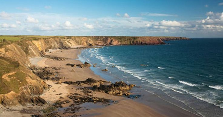 Pembrokeshire's dramatic and varied coastline is a joy for walkers, taking in stunning bays, beaches and clifftops, volcanic headlands, glacial valleys and quaint towns