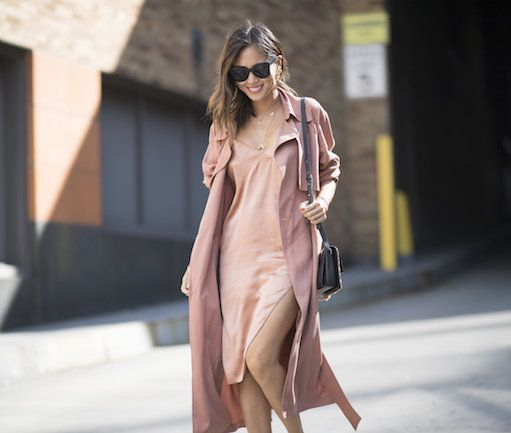 The hue of the season: Grown-up pink: Wear pastel and dusty pink shades top-to-toe or mix them prints or brights