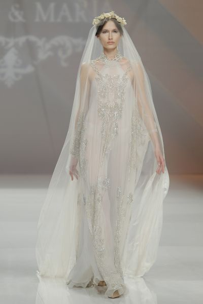 Vestidos de novia cuello halter 2017: Deja al descubierto los hombros y sorprende en tu gran día Image: 13