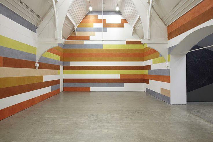 David Tremlett   3 Drawing Rooms   at Ikon Gallery, Birmingham, 2013