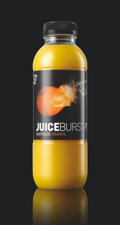 JuiceBurst Fairtrade Orange