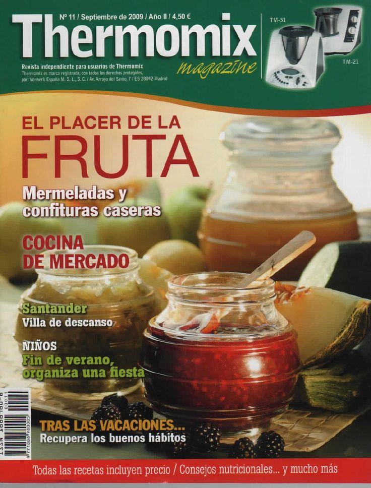 Revista Thermomix n 11 el placer de la fruta