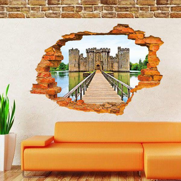 Старинные стены кухни, наклейки старинные домашнего декора кухня старинные стены спальни наклейки 3D наклейки стены урожай плакат