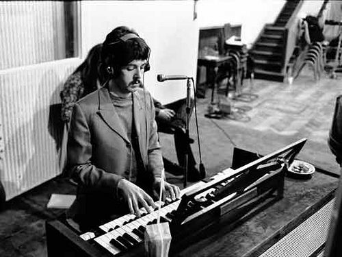 Beatles Paul Sgt Pepper Recording Session March 1967