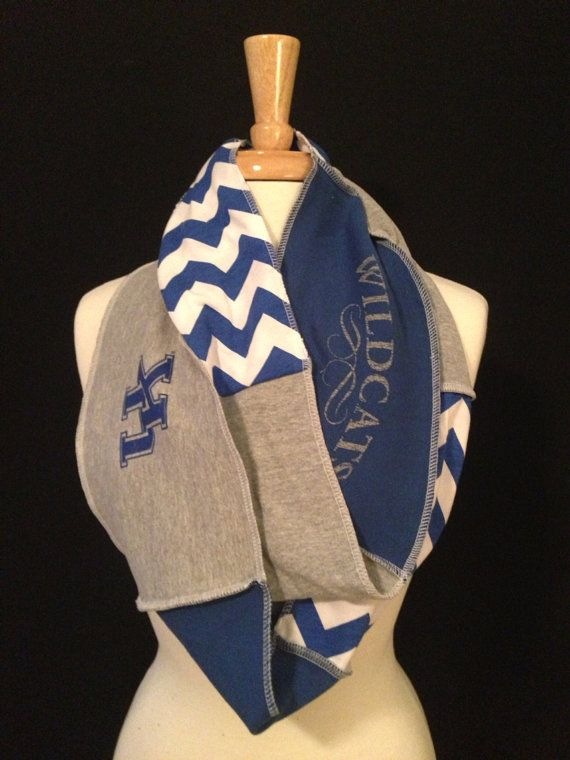 University of Kentucky Infinity Scarf by poshCreationsCincy, $32.00