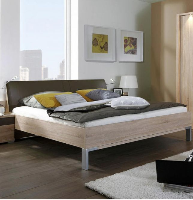 SCHLAFZIMMER in Eichefarben in 2018 Schlafzimmer Pinterest - komplett schlafzimmer mit matratze und lattenrost