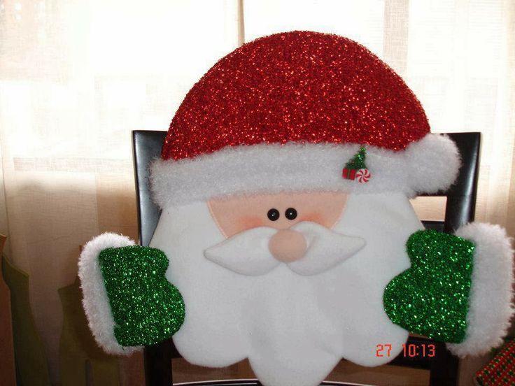 Cubresilla Santa Claus, moldes