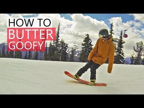 How to Butter on a Snowboard - Snowboarding Tricks - YouTube