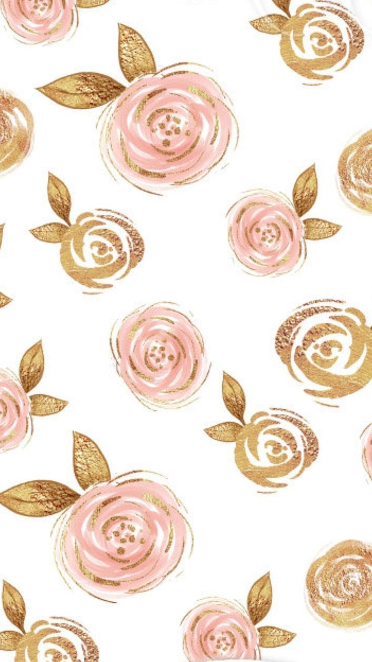 Now Thats Rose Gold Flower Phone Wallpaper Gold Wallpaper Iphone Flower Wallpaper