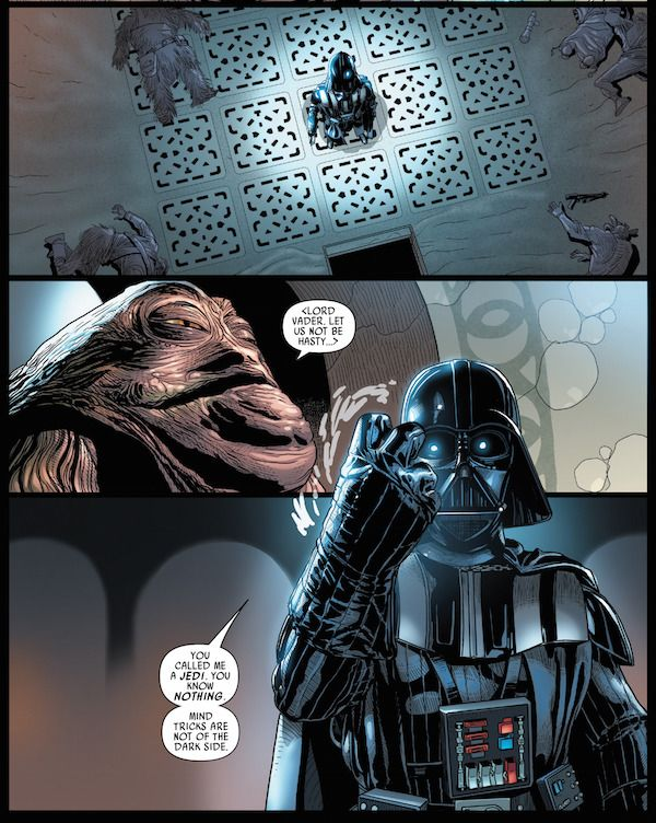Forget the prequels. Even when he's on the Emperor's bad side, this is the #DarthVader that everyone wants to see. #StarWars #comics