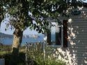 Le Châtelet**** (zoover 7,7) Bretagne. Verwarmd overdekbaar zwembad, verwarmd kinderbad, animatie in hoogseizoen. Zandstrand op 300 m. Speeltuintje.  Bar. Afhaalgerechten. Kleine levensmiddelenwinkel.  Aan de Betonse Smaragdkust.