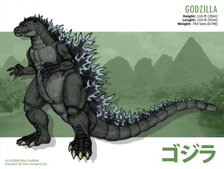 Godzilla by ~CyRaptor on deviantART