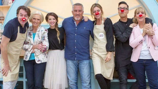Zoella and Dame Edna join Bake Off - http://www.baindaily.com/zoella-and-dame-edna-join-bake-off-2/