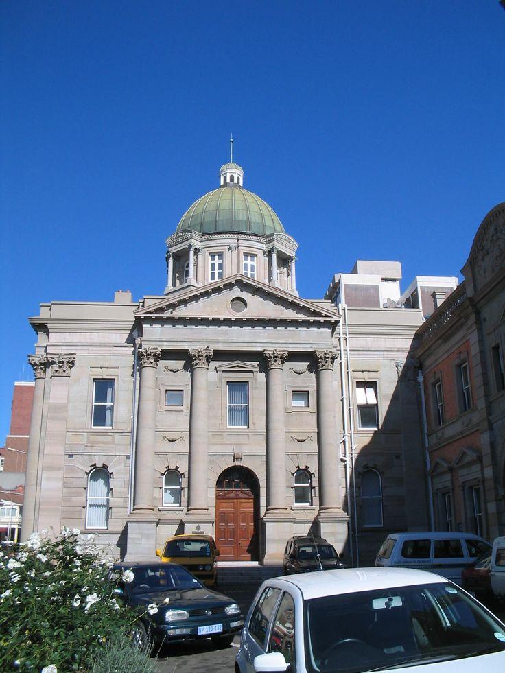 The KwaZulu-Natal parliament building, located in Pietermaritzburg, South Africa.
