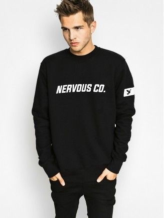 Bluza Nervous Co (black)
