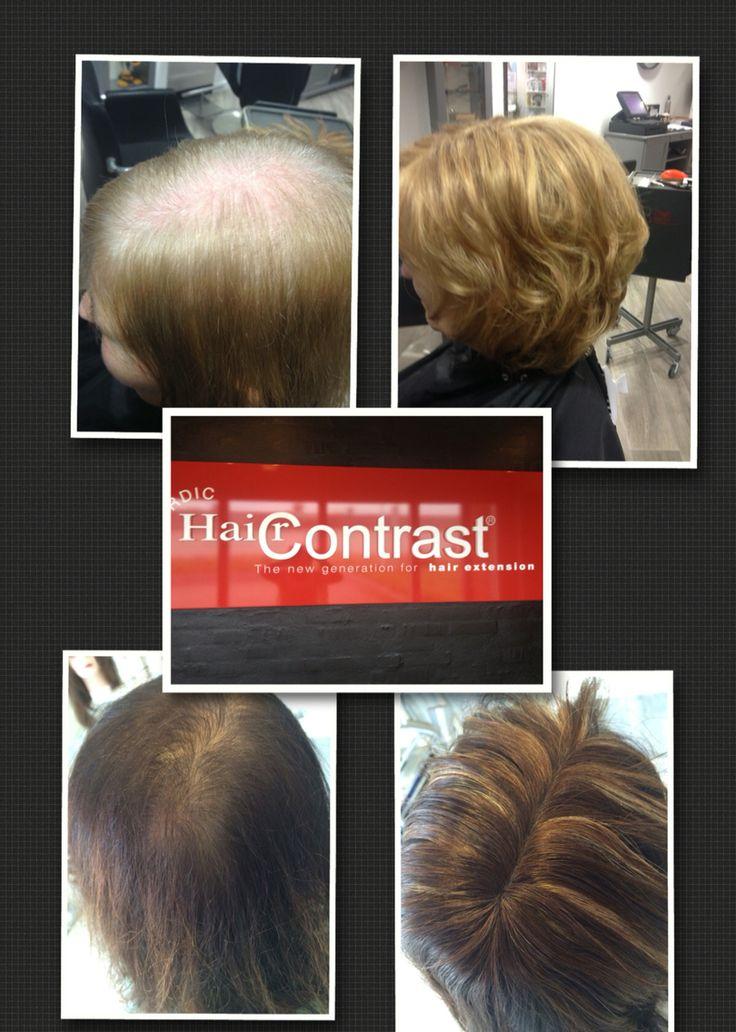 De T-Parting ... De oplossing voor dunner wordend haar❤️ Haircontrast Nederland