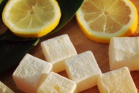 LOKUMS Lemon flavored Turkish Delight Lokum by TheLokums on Etsy