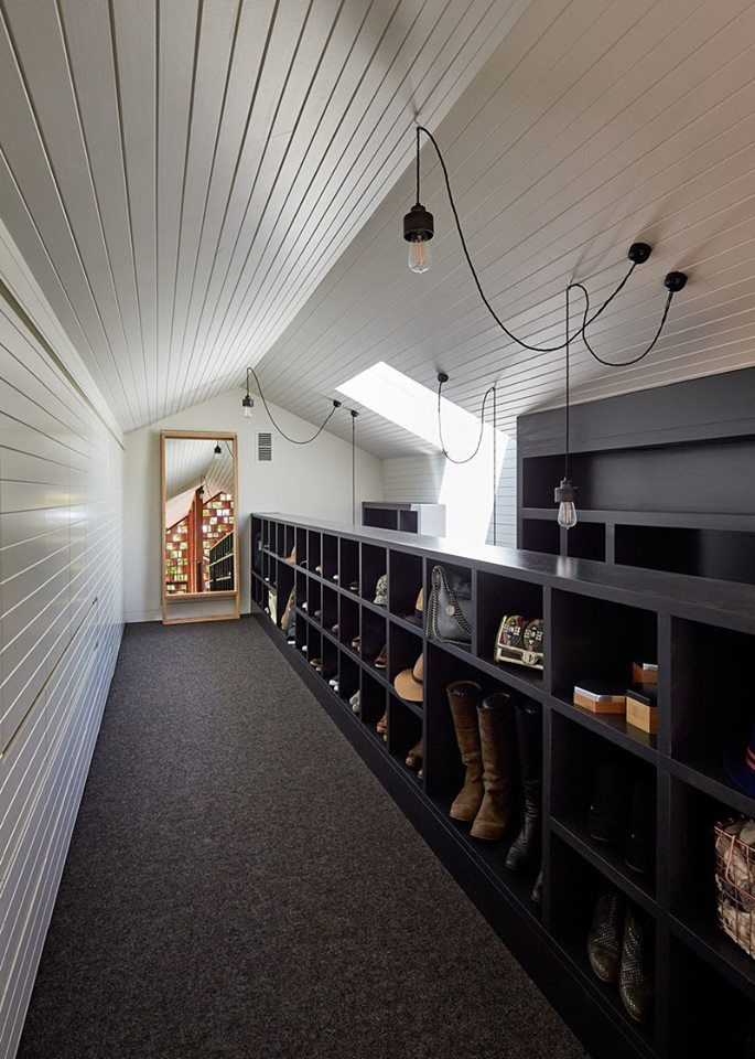 Pomysł na dobrze oświetloną garderobę