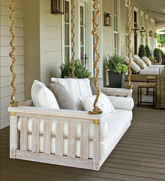 Free Diy Porch Swing Plans Ideas To Chill In Your Front Porch In 2020 Porch Swing Bed Porch Swing Porch Decorating