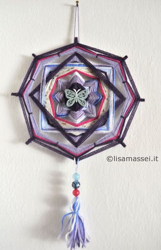 Mandala ojo de dios - Lisa Massei