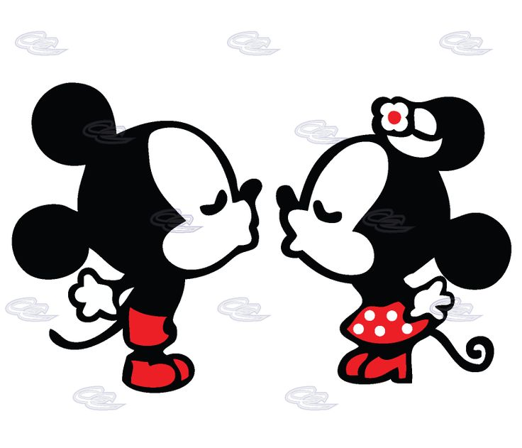 Gallery For Gt Mickey Minnie Kiss Mickey And Minnie