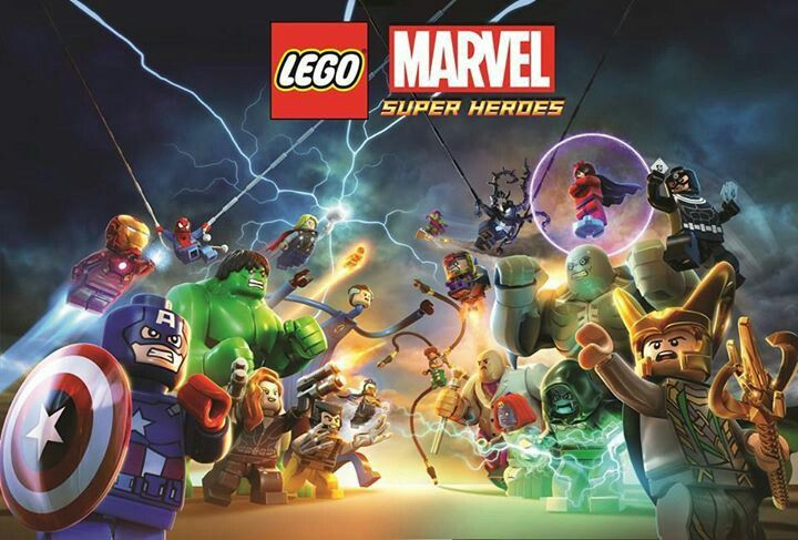 Lego Marvel Superheroes.