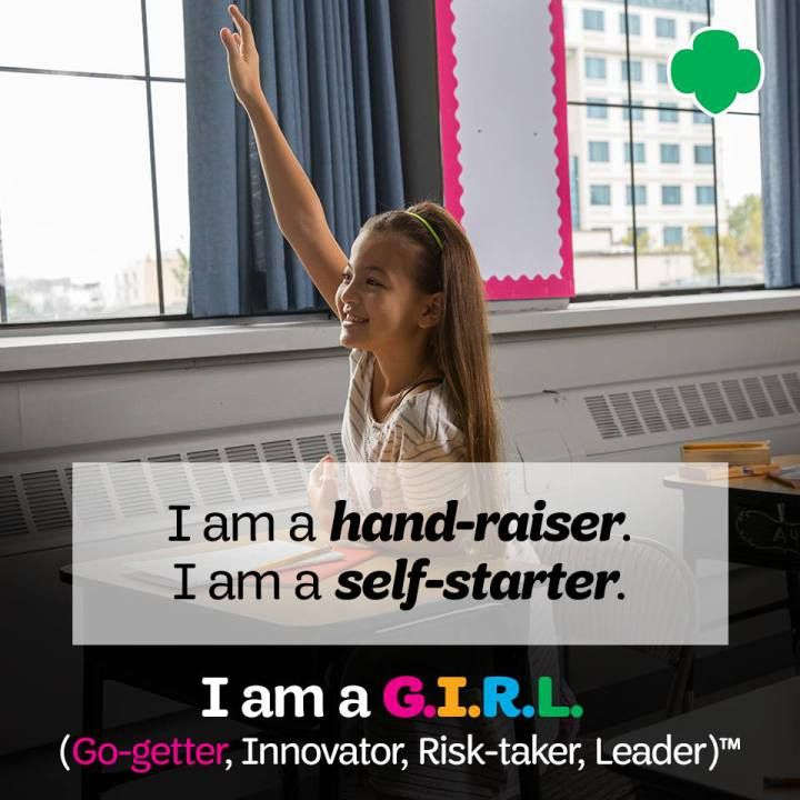 Are you raising a hand-raiser, self-starter, innovator, risk-taker, leader and go-getter? Girl Scouts of the United States of America (@gsusa) has been preparing girls for leadership since 1912. Girl Scouts prepares girls to empower themselves and promotes compassion, courage, confidence, character, leadership, entrepreneurship, and active citizenship through activities involving camping, community service, learning first aid, and earning badges by acquiring practical skills. #ad