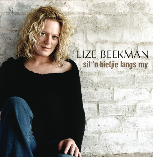 WebArtistDepot PACKAGING: CD Cover Design for South African Singer & Songwriter Lize Beekman.
